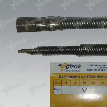 Трос сантехнический 10 мм,  длина 60 м